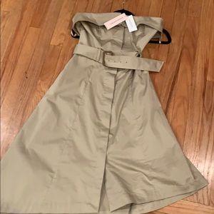 NEW Banana Republic Cargo Strapless Dress
